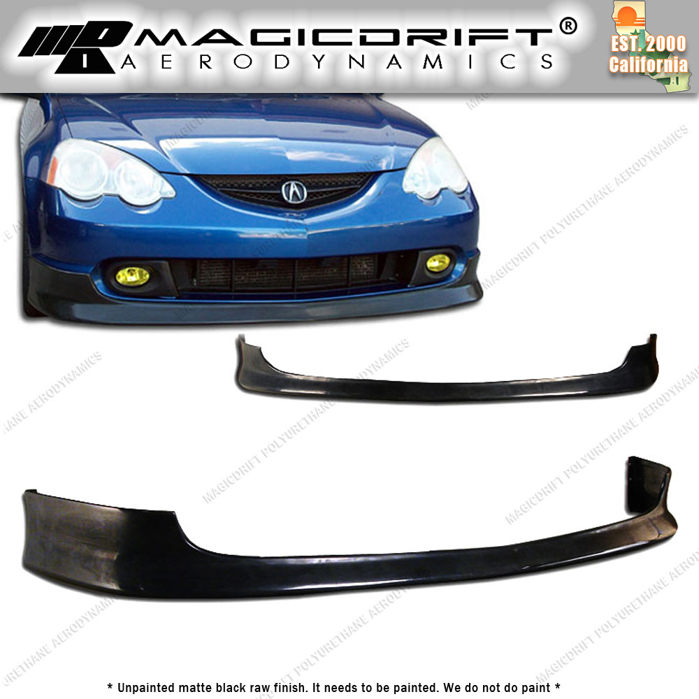 02-04 Acura RSX DC5 Type R TR Poly Urethane Bumper Front Lip