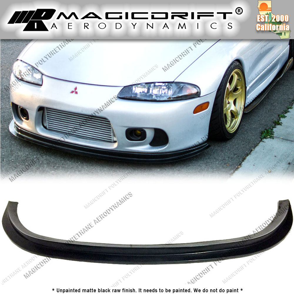 for 97 99 mitsubishi eclipse 2g dsm splitter style front. Black Bedroom Furniture Sets. Home Design Ideas