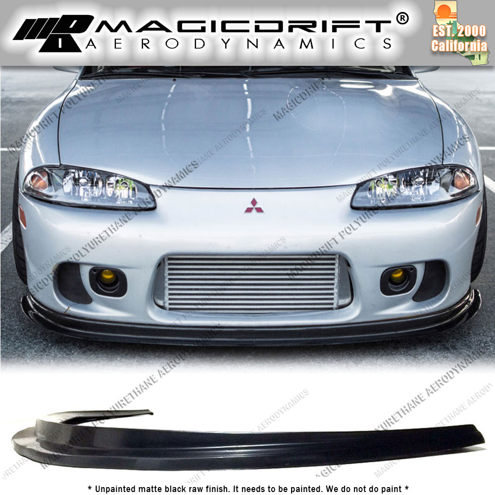 for 97 99 mitsubishi eclipse 2g dsm splitter style front bumper lip gs gsx gst new for sale in. Black Bedroom Furniture Sets. Home Design Ideas